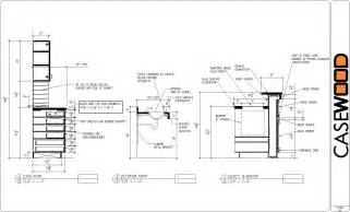 sle cad drawings casewood cabinet shop drawings