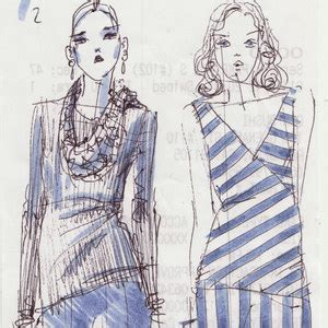 fashion illustration yelen aye how to make a personal croquis threads