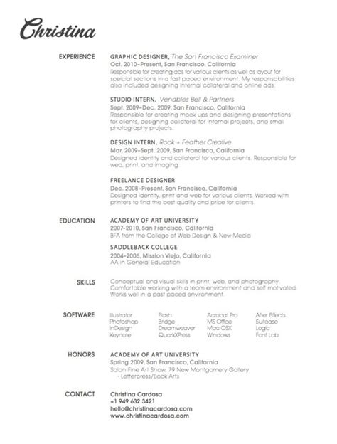 15 beautiful resume designs for your inspiration designer daily graphic and web design