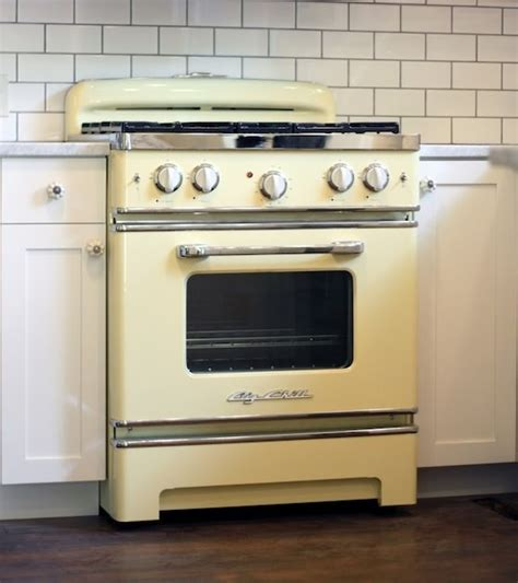 Yellow Kitchen Appliances by Big Chill Appliances Pull Sleek Retro Designs From The