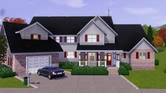 My Cool House Plans My Sims 3 Blog Sweet Home Americana By Sims 3 Properties