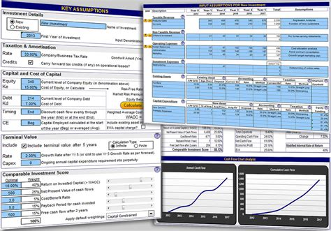excel valuation template business valuation worksheet lesupercoin printables