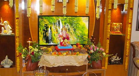 Ganpati Home Decoration by Eco Friendly Home Decoration For Ganesha The Royale