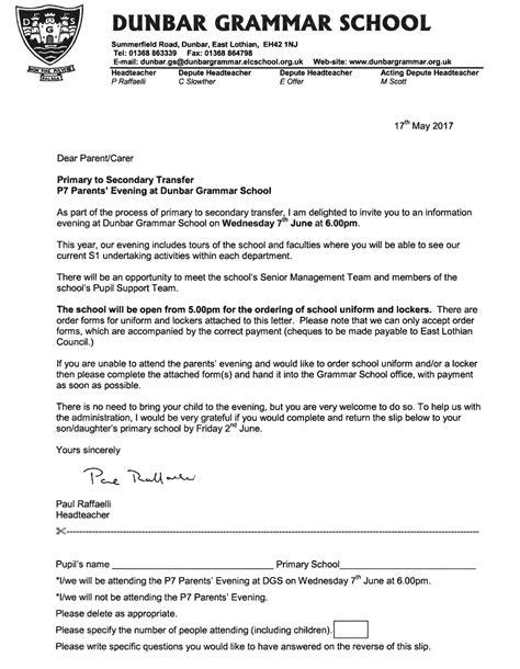 Application Letter Grammar Application Letter To Grammar School