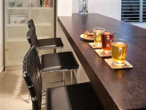 bar top materials kitchen island countertop considerations hgtv