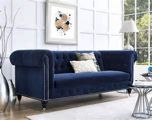 velvet blue sofa 10 velvet sofas to put in your living room immediately