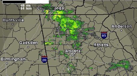 atlanta weather map news for atlanta water rising in lake lanier