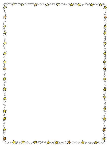 100 border template for word baby page border clipart 77