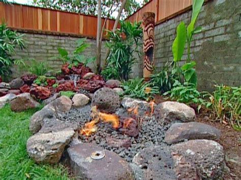 Backyard Themed Pit by Vacation Landscapes Diy