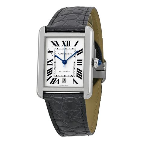 From Cartier With Newsvine Fashion by Cartier Tank Xl Automatic Silver S