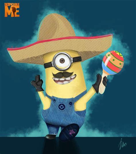 imagenes minions haciendo ejercicio mexican minion by imphelikz d6ay9v3 jpg 839 215 953 fiesta