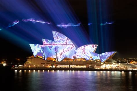 lights australia sydney australia sydney opera house light up by brian eno