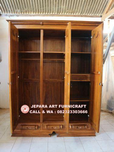 Lemari Pakaian 3 Pintu Meja Rias Ranjang Nakkas Anata best seller jual lemari pakaian jati pintu 3 murah peluru