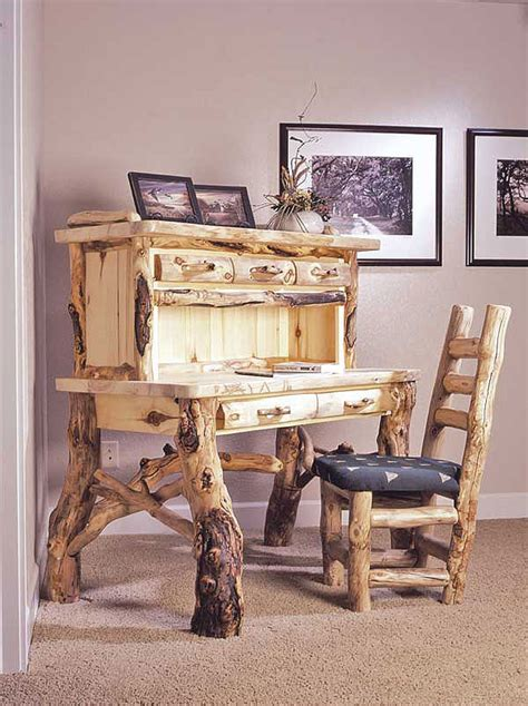 Building Log Furniture by Woodworking Plans Rustic Ranch Log Furniture Pdf Plans