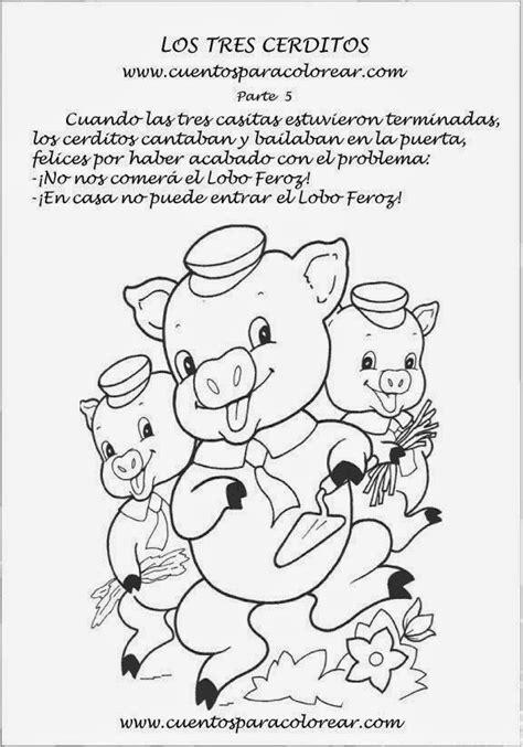 imagenes de cuentos infantiles para colorear e imprimir cuentos infantiles dibujos para colorear a los tres