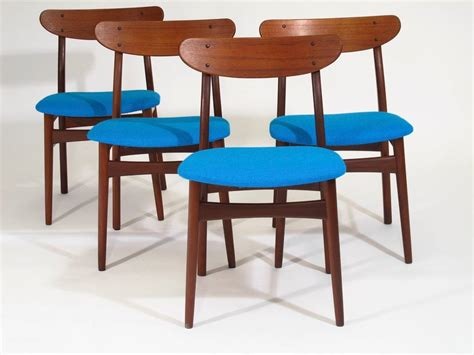 Dining Room Chairs Mid Century Six Mid Century Dining Chairs At 1stdibs