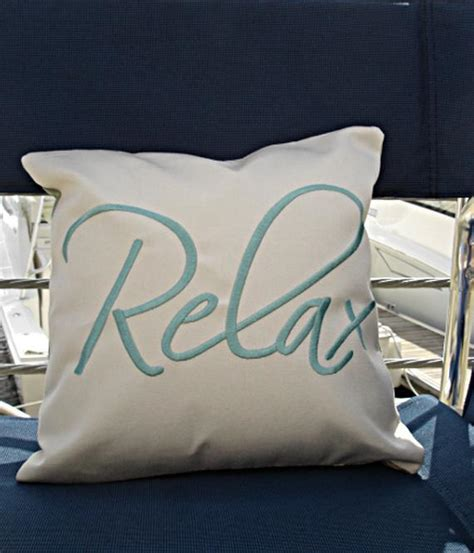 lounge pillow cover pillow cover relax pillow lounge pillow sunbrella etsy