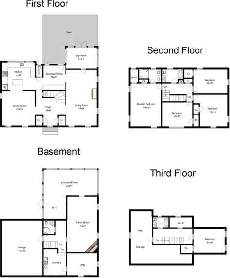 center colonial floor plan center colonial floor plans quotes