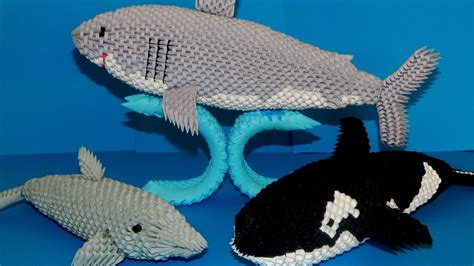 3d origami nemo tutorial 3d origami shark tutorial part3 youtube