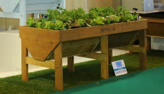 raised planters grow your own edibles up high