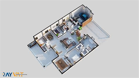 3d Floor Plan Rendering by 3d Floor Plan Services Architectural 3d Floor Plan Rendering