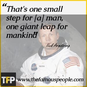 neil armstrong biography quotes that