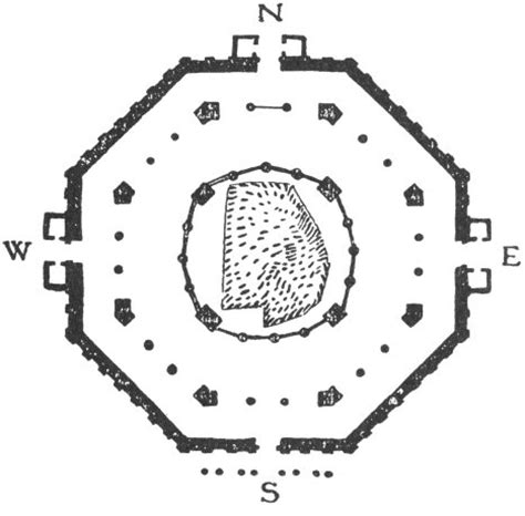 dome of the rock floor plan architecture mysticism and myth chapter iv at the