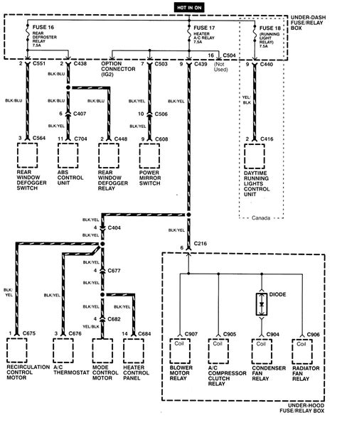 acura integra wiring diagram acura integra 1998 2001 wiring diagrams power