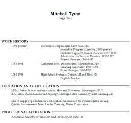 Resume Employee Training Focus On Team Building