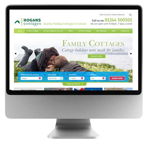 cottage websites cottage website entyce creative