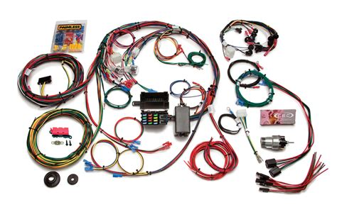 circuit direct fit   mustang chassis harness