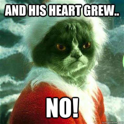 Grinch Memes - search results for and the grinch heart grew quote