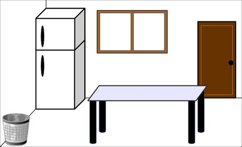 kitchen counter clipart black and white