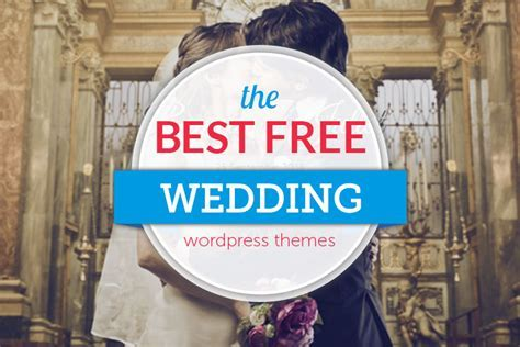 26  Fabulous and Free WordPress Wedding Themes 2019