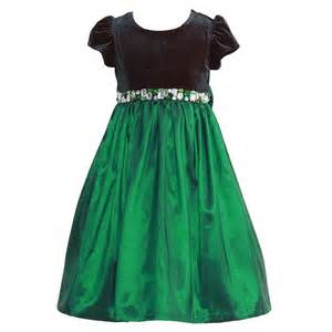 jayne copeland green velvet jeweled christmas dress set