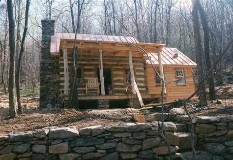 Handmade Log Cabin - part five of building a rustic cabin handmade houses