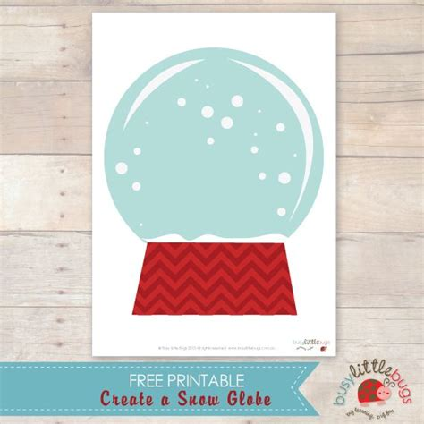 printable winter playdough mats create a snow globe free printable by busy little bugs