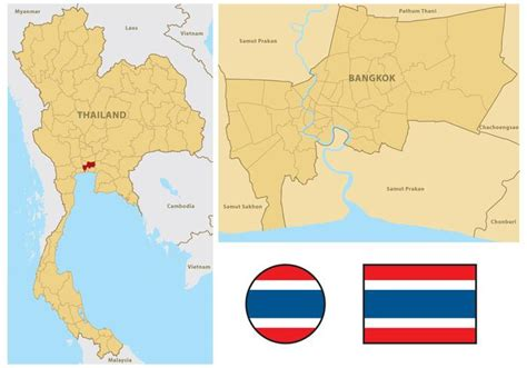thailand map vector thailand map free vector stock graphics