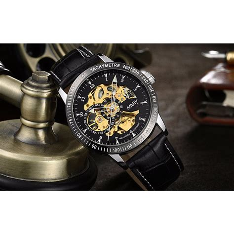 Jam Tangan Dw Leather Kulit Black 1 nary jam tangan mechanical kulit 18026 black silver jakartanotebook