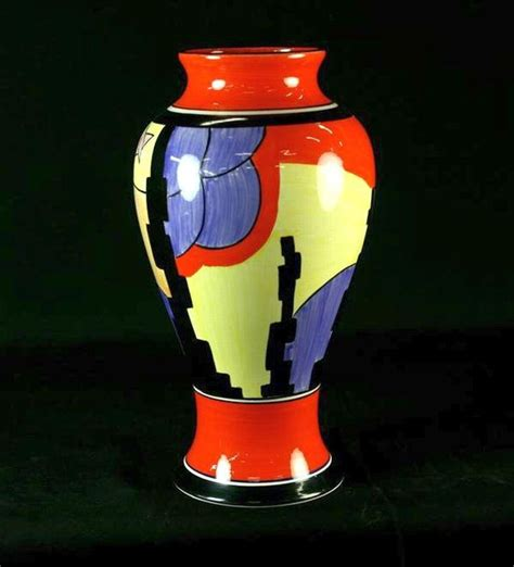 Clarice Cliff Vase by 17 Best Images About The Colours Of Clarice Cliff On