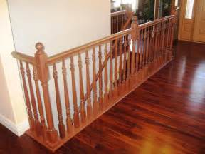 wood handrails for stairs install your best stair handrail stair constructions