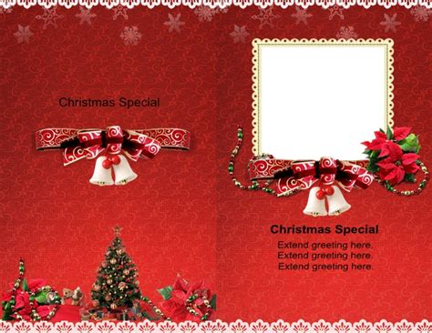personalized cards template say merry with personalized and corporate card
