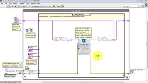 pattern matching ni vision assistant ni vision step 4 import vision script youtube