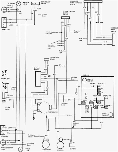 chevy small block wiring diagram free wiring
