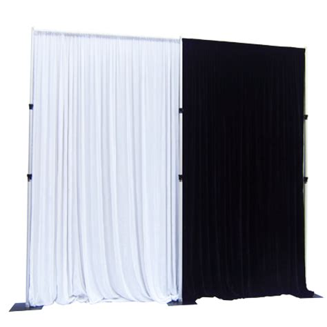 pipe and drapes wholesale black pipe and drape from rk rk is professional