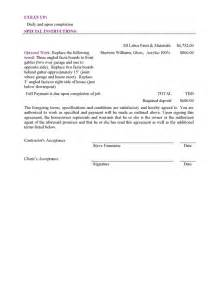 How To Write A Painting Contract by Sle Bid Free Printable Documents