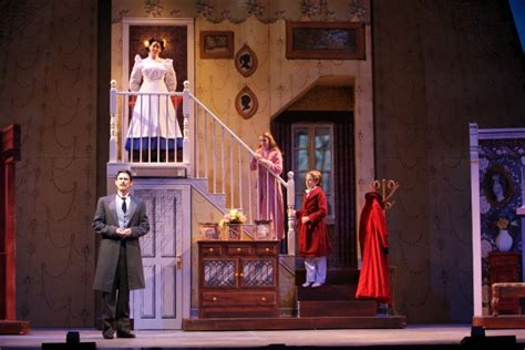 mary poppins set rental banks photo flash first look at music theatre of wichita s mary