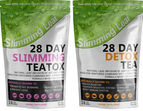 Get Slim Tea 28 Day Detox Reviews by Herbalist Report