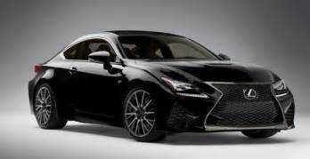 lexus rc f in black