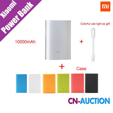 Sale Promo Powerbank Xiaomi 10000 Mah Original Free Silicone Ti1139 aliexpress buy original xiaomi mi power bank 10000mah external battery portable mobile